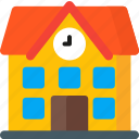 architecture, building, college, home, student, study, university icon