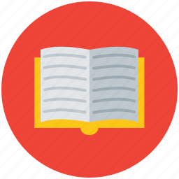 book, education, learning, open book, reading, study icon