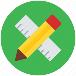 decimal ruler, drafting, geometrical, geometry, pencil, ruler scale, scale icon