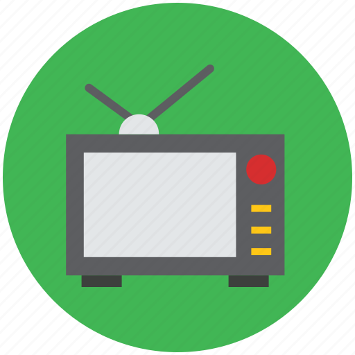 broadcasting, electronics, monitor, multimedia, retro tv, television, tv icon