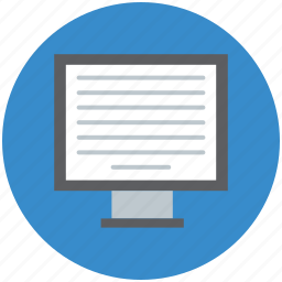 flat screen, lcd, led, mac, monitor, screen, tv icon