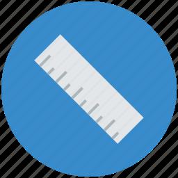 decimal ruler, geometrical, geometry, measure, ruler, ruler scale, scale icon