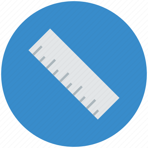 decimal ruler, geometrical, geometry, measure, ruler, ruler scale, scale icon