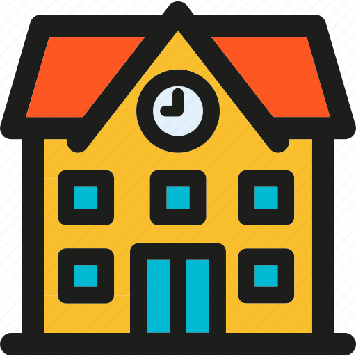 University, building, college, learning, school, study icon - Download on Iconfinder