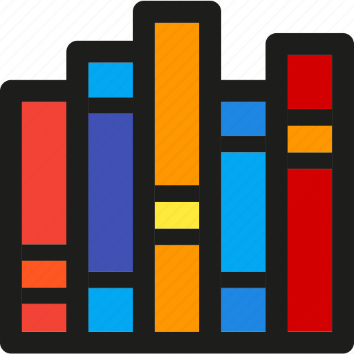 Books, book, data, document, documents, extension, library icon - Download on Iconfinder