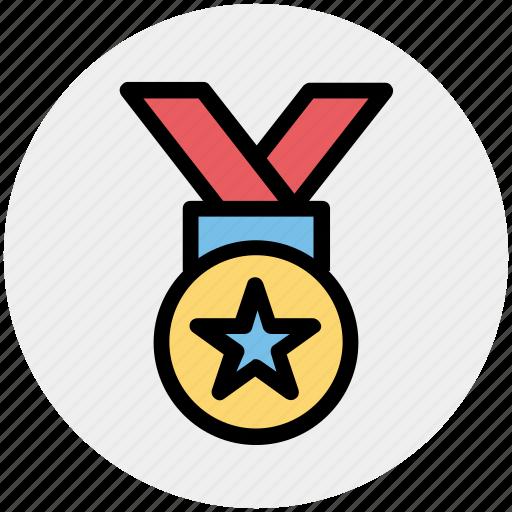 award, medal, prize, quality, reward, ribbon icon