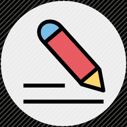 edit, editorial, pen, pencil, write, writing icon
