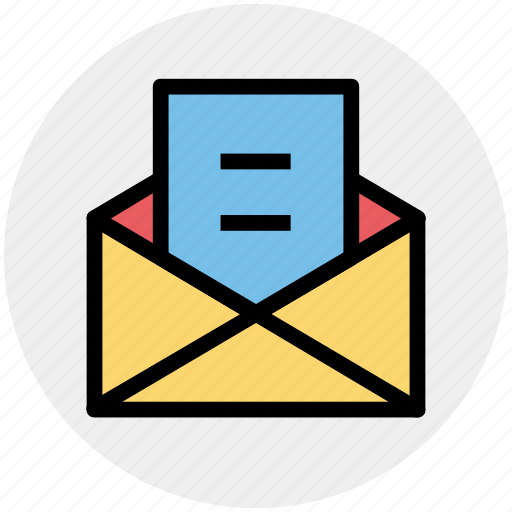 email, envelope, letter, open, open envelope, open letter icon