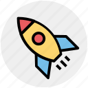 rocket, rocket ship, ship, space, space ship, transportation icon