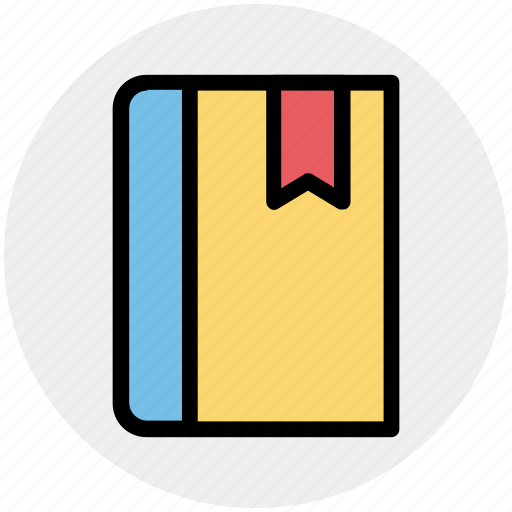 book, bookmark, education, library, read, study icon