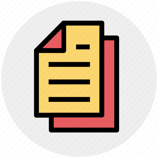 copies, copy, documents, files, pages, paper icon