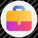 bag, education, school bag icon