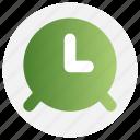 alarm, clock, education, time icon