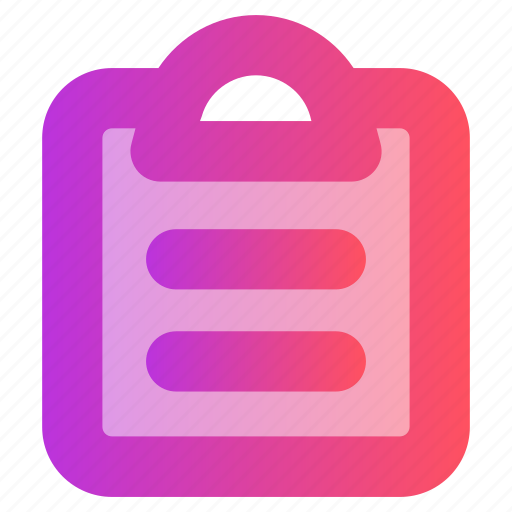 Clipboard, document, education, paper icon - Download on Iconfinder