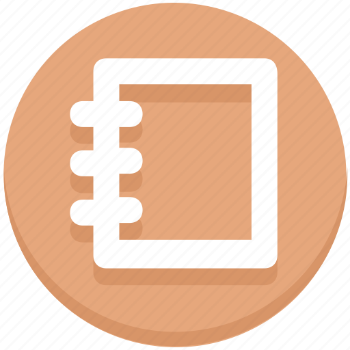 Education, notebook, notepad, notes icon - Download on Iconfinder