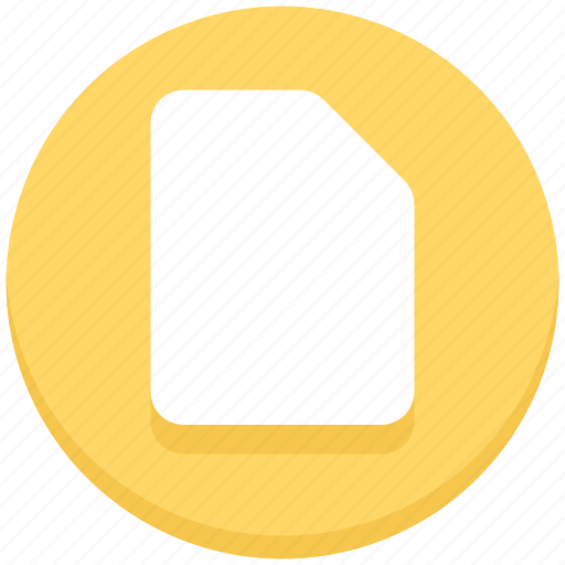education, file, paper, sheet icon