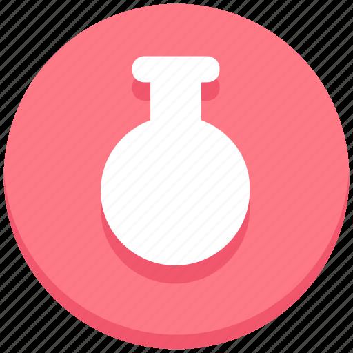 education, flask, lab, laboratory, tube icon