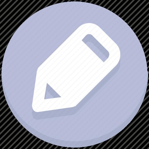 edit, education, pencil, write icon