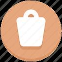 delete, dustbin, education, trash icon