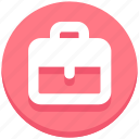 bag, briefcase, education, school bag icon