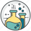 chemistry, experiment, laboratory, research, science, tube icon
