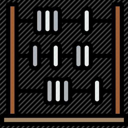 abacus, education, learning, school, study, university icon
