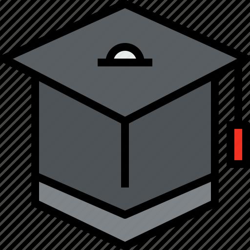 education, graduate, learning, school, study, university icon