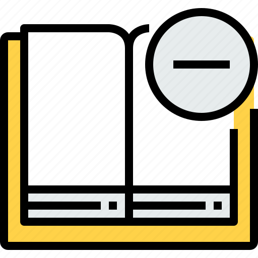 book, education, learning, open, remove, school, study icon
