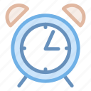 alarm, bell, clock, morning, ringing, time icon