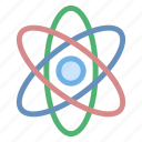 atom, atomic, icon, molecule, science icon