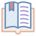 book, books, education, reading, text, tool, top, view icon