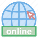 educational, icons, international, internet, learning, online, service, symbol, web, world icon