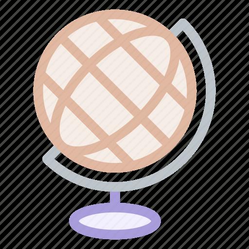 earth, geography, globe, materials, school, world icon