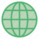 circular, earth, globe, grid