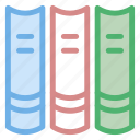 book, books, group, grouped, house, library, objects, reading, study, things icon