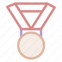 black, medal, medals, object, recognition, sport, sportive, sports, winner icon