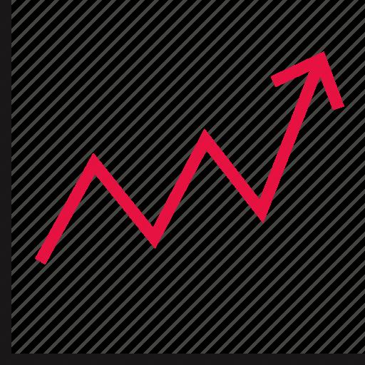 data, graph, online, school icon