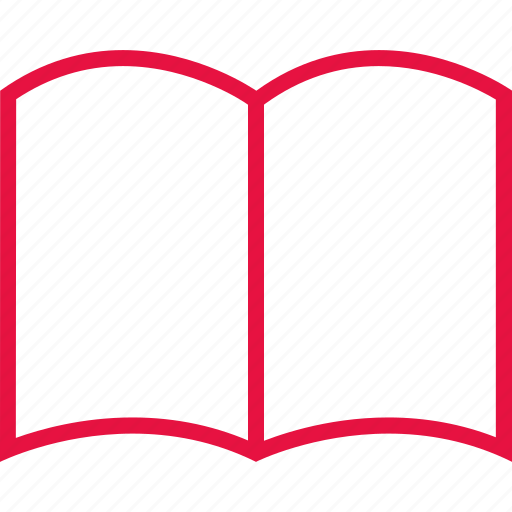 book, learning, online, school icon