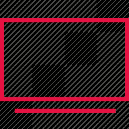computer, online, school, screen icon