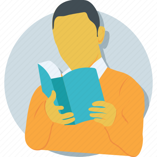 book, education, pupil, reader, student icon