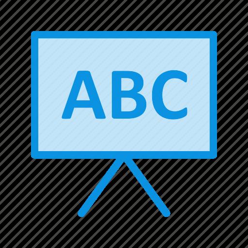 board, business, presentation icon