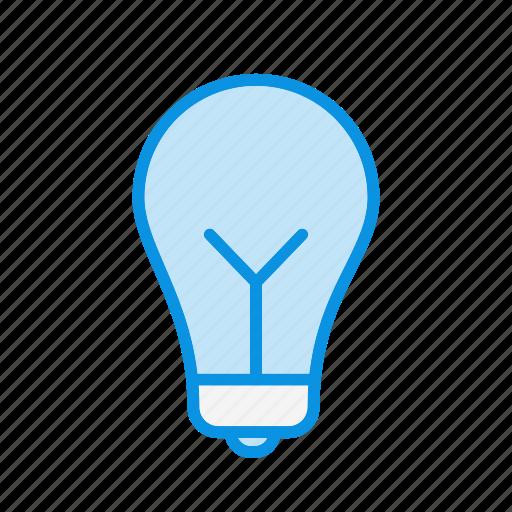 bulb, creative, idea icon
