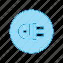 electric, plug, socket