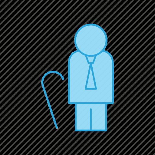 geriatrics, retire, retirement icon
