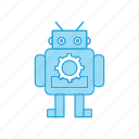 cute, exoskeleton, machin, robot
