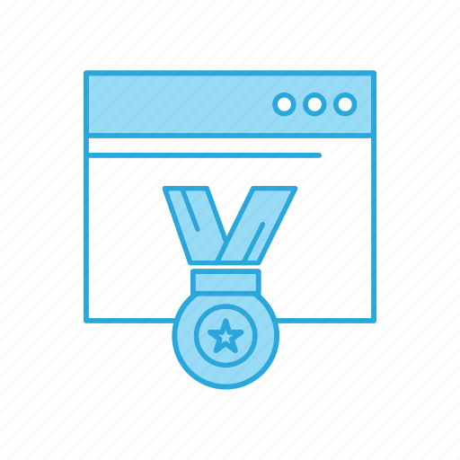 Award, optimization, seo, web icon - Download on Iconfinder