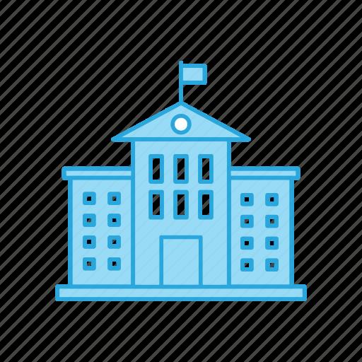Building, education, school icon - Download on Iconfinder