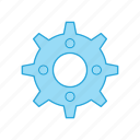gear, set, setting, wheel icon