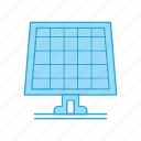 electricity, panel, solar