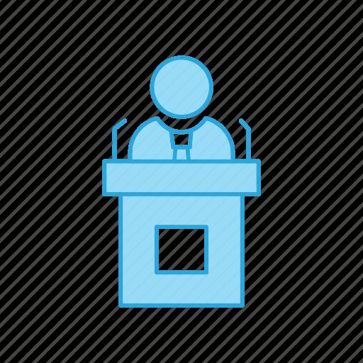 Education, presentation, speech icon - Download on Iconfinder